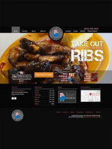 Bloomington Web Design - Smokin' Jack's Rib Shack