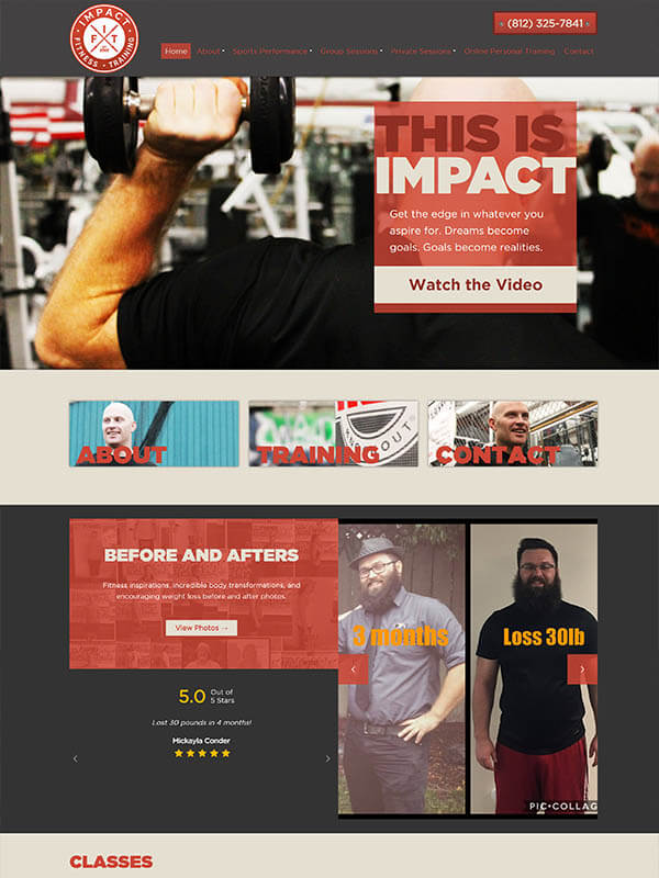 Bloomington Web Hosting - Impact Bloomington