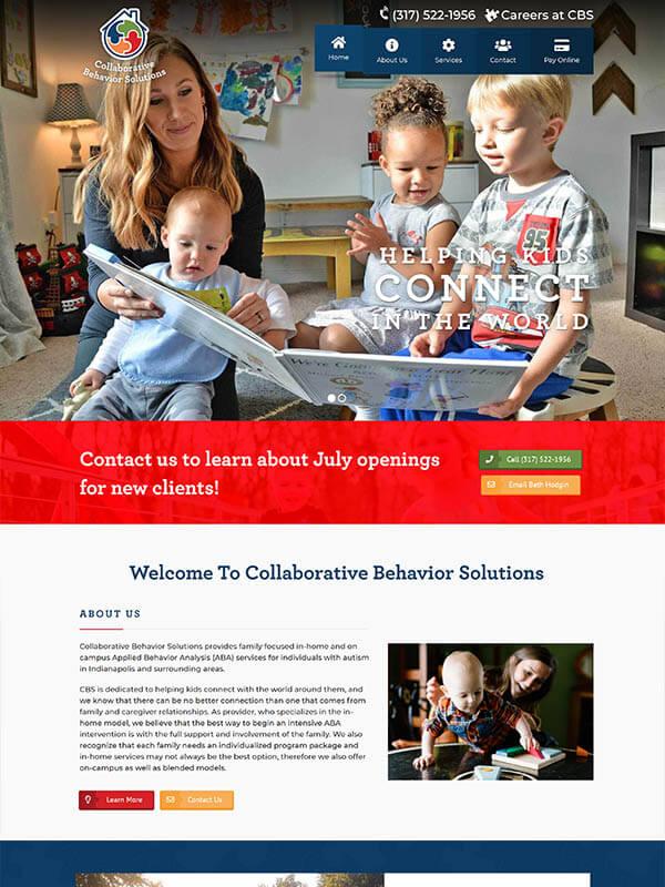 Bloomington Web Design - Collaborative Behavior Solutions
