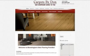 Carpets by Don - before snapshot