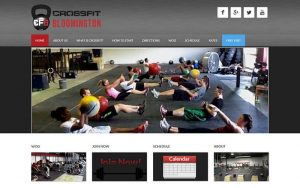 CrossFit Bloomington - before snapshot
