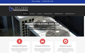 Midwest Heating - before snapshot