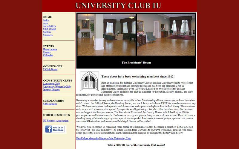 UClub - before snapshot