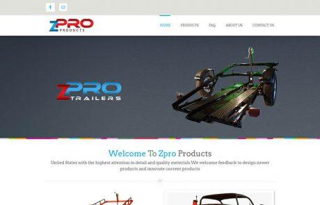 Zpro Trailers - before snapshot