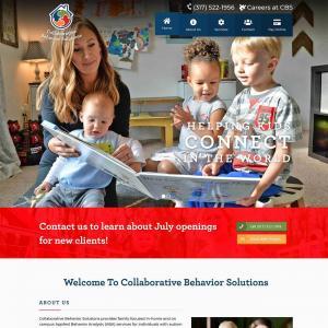 Featured Website - Collaborative Behavior Solutions